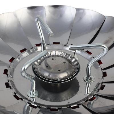 333-519 ЧИНГИСХАН Плитка газовая к бал. с цанговым захватом портативная с лепестками малая