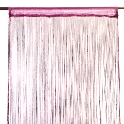 491-093 Занавеска нитяная 1x2м, бахрома, фиолетовая