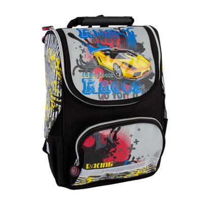 526-004 Рюкзак школьный Рейсинг, 34*25*13см, 119K401