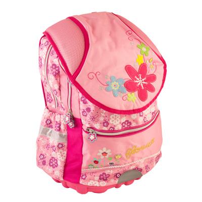 526-006 Рюкзак школьный Цветок, 39*32*19см, 119K501