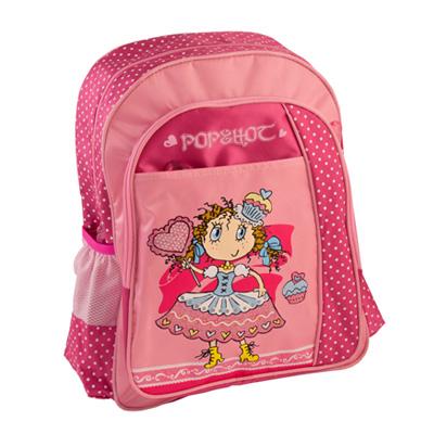 526-010 Рюкзак школьный Забавная Принцесса, 40.5*30.5*13см, HF-7613