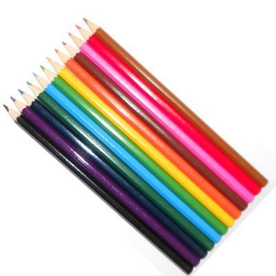 526-021 Набор цветных карандашей 12 цветов, заточен., в картон.коробке