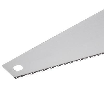 663-037 ЕРМАК Ножовка по дереву 450мм, закаленный зуб, трехстор заточка, (чистый пропил, 12 зубьев на дюйм)