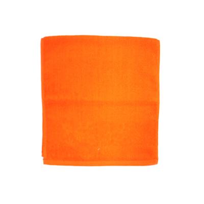 484-155 VETTA Полотенце банное, 100% хлопок, 34x70см, Ornament оранжевое арт.FBS306-1
