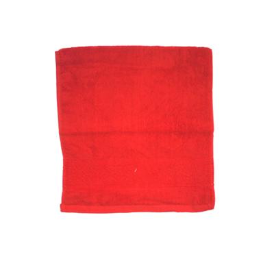 484-156 VETTA Полотенце банное, 100% хлопок, 34x70см, Ornament, красное арт.FBS306-1