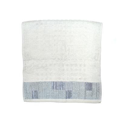 484-168 VETTA Полотенце банное, 100% хлопок, 32x70см, Squared белое арт.FBS8982
