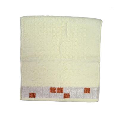 484-169 VETTA Полотенце банное, 100% хлопок, 32x70см, Squared белое арт.FBS8982