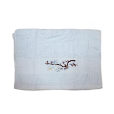 484-189 VETTA Полотенце банное, 100% хлопок, 50x100см, Sakura, синее арт FBS222-37