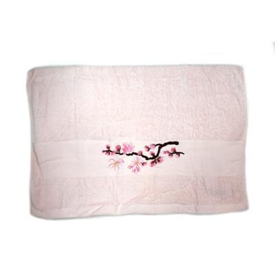 484-191 VETTA Полотенце банное, 100% хлопок, 50x100см, Sakura, розовое арт FBS222-37