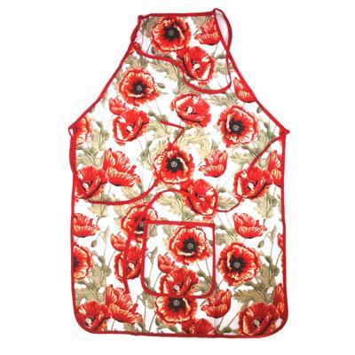 439-114 VETTA Kitchen Фартук, полиэстер, 51x76см, Ruby flower
