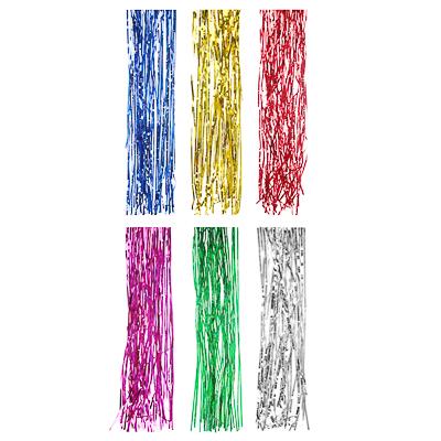 377-124 Дождик СНОУ БУМ 15х100см 0,3см ПВХ, 6 цветов, MY182