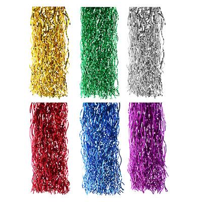 377-132 СНОУ БУМ Дождик 15х100см 0,3см ПВХ, волнистый, 6 цветов , MY185