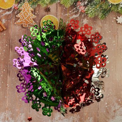 377-147 СНОУ БУМ Гирлянда-подвеска Шар 26см, фольга, многоцвет, MYH-070