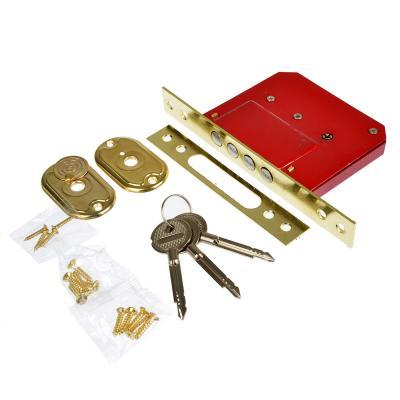 611-016 Замок врезной 189-4MF золото