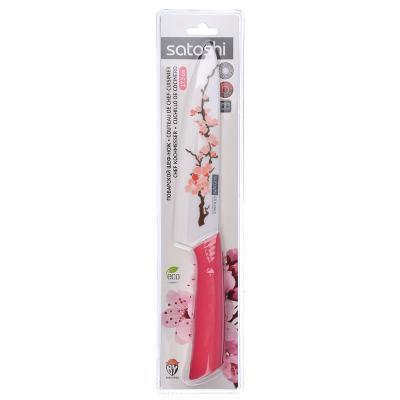 """803-129 Нож кухонный, 17,5 см, керамический, SATOSHI """"Сакура"""""""