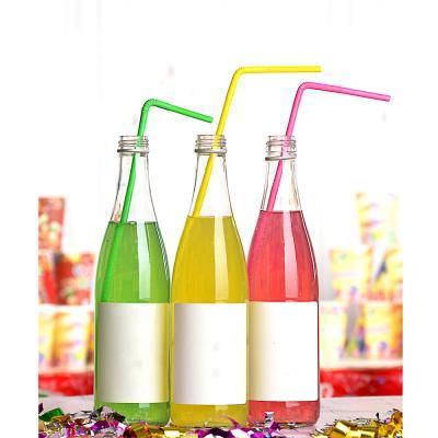 """437-082 Трубочки для напитков 20шт, 265x5мм, цветные, """"Фантазия"""""""