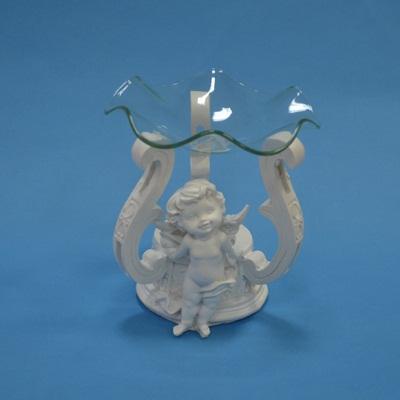 """536-026 Аромалампа """"Белый ангел"""" 10х11см"""