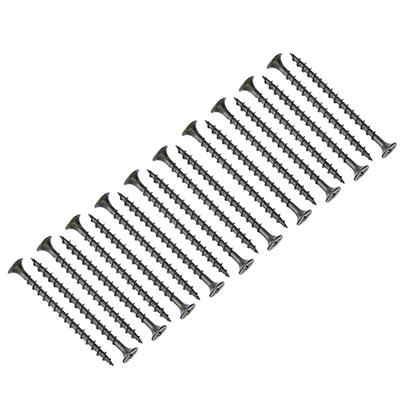665-118 ЕРМАК Саморез оксид крупный шаг 3,5x55мм, (13 шт)