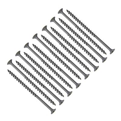 665-120 Саморез оксид крупный шаг 4,2x76мм, (15 шт), 100710