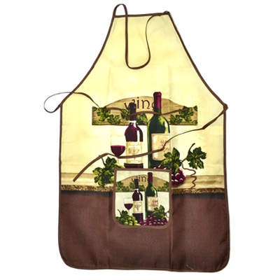 439-162 VETTA Kitchen Фартук, полиэстер, 51x76см, Wine house