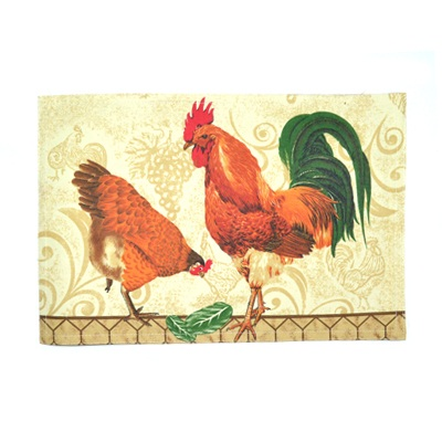 439-171 VETTA Kitchen Мат на стол 30x45см Lille cock