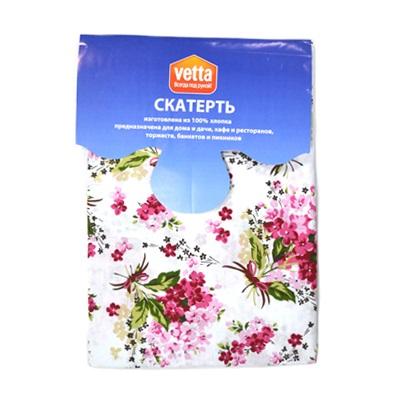 439-182 VETTA Kitchen скатерть 140x150см ROSE FLOWER 100% хлопок