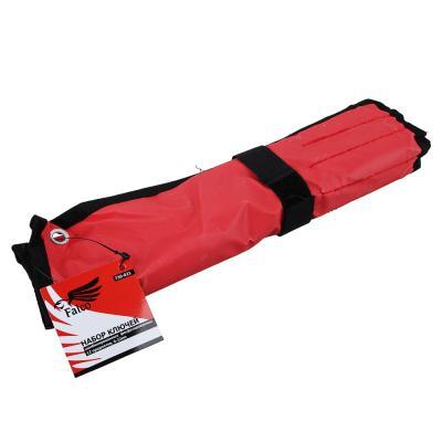 736-021 FALCO Набор ключей комб. фосфат. в сумке 12 пр., 6-22м (6, 7, 8, 9, 10, 11, 12, 13, 14, 17, 19, 22)