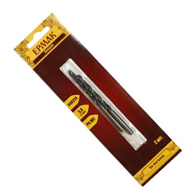 Сверло по металлу Р6М5 5,5мм. 2шт.