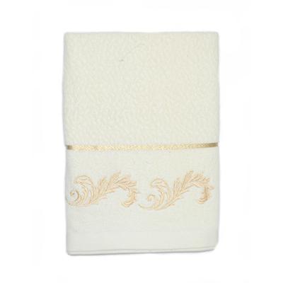 484-233 VETTA Полотенце банное, 100% хлопок, 50x100см, Барокко белое