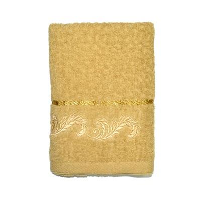 484-234 VETTA Полотенце банное, 100% хлопок, 50x100см, Барокко бежевое