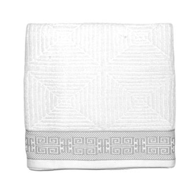 484-253 VETTA Полотенце банное, 100% хлопок Македония белое 48x90см