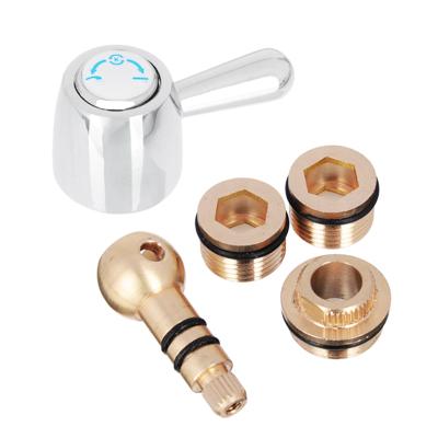 565-039 Переключатель шаровой с фиксатором из латуни для смесителей для ванны Rain 511