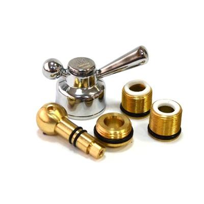 565-040 Переключатель шаровой с фиксатором из латуни для смесителей для ванны Rain 710,810