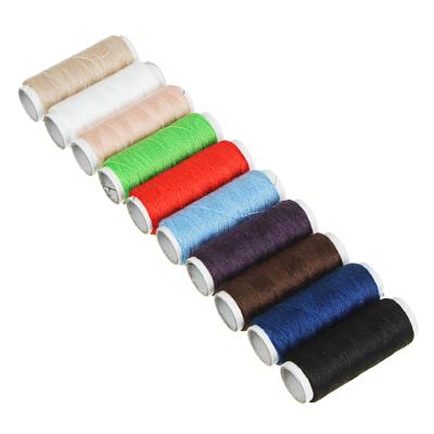 308-006 Набор ниток 10шт, цветные, полиэстер