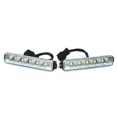 706-004 Дневные ходовые огни DRL190,E4 Mark, 5LEDx1W, 160x30x45мм, функция автоотключения