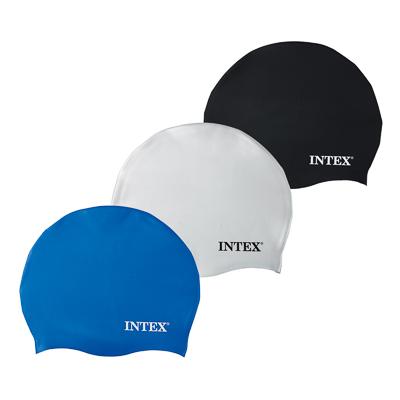 359-053 INTEX Шапочка для бассейна 3 цвета, от 8 лет, 55991