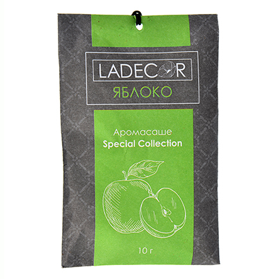 536-037 Аромасаше Лакшери, 10гр, с ароматом зеленого яблока