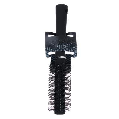 356-524 Расческа-брашинг, 11/4 см, L22,5 см, черный