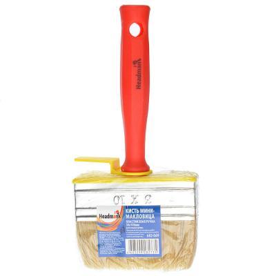 682-049 HEADMAN Кисть мини-макловица пластиковая ручка нат. щетина 30*100