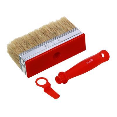 682-053 HEADMAN Кисть мини-макловица пластиковая ручка нат. щетина 50*150