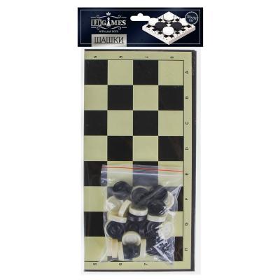 341-002 Шашки 33х33см, пластик, бумага