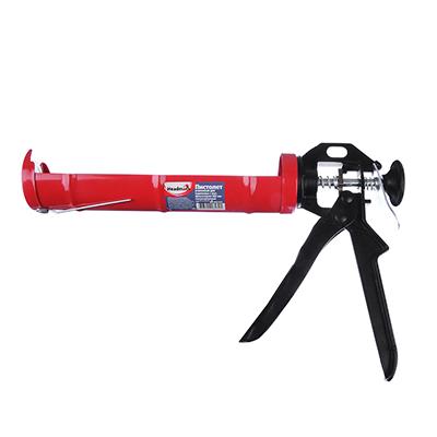 684-014 HEADMAN Пистолет усиленный для герметика с мет. фиксатором 225мм полукорпусный