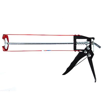 684-015 HEADMAN Пистолет усиленный для герметика с мет. фиксатором 225мм скелетный