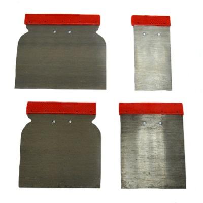 683-012 HEADMAN Набор металл. шпателей с пластик. ручками 4пр