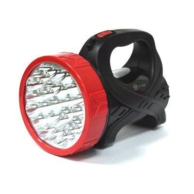 928-006 Фонарь аккумуляторный, 25 светодиодов, с боковой лампой, 737
