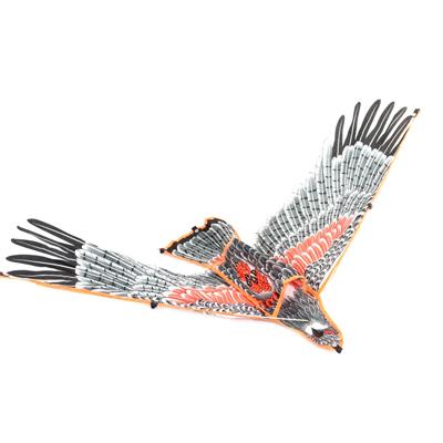 """341-017 Воздушный змей """"Птица"""", ручка с леером (леска)"""