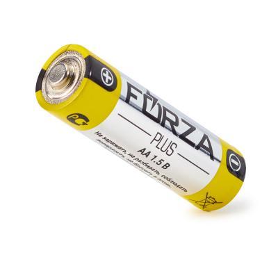 """917-004 Батарейки щелочные, 2 шт, щелочная, тип AA (LR6), BL, FORZA """"Alkaline"""""""