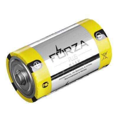 "917-007 Батарейки щелочные, 2 шт, щелочная, тип D, BL, FORZA ""Alkaline"""