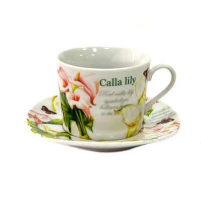 802-007 Нежность Набор чайный 12 пр., 200мл, в подароч.упак., фрф