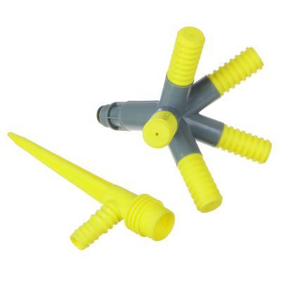 160-002 INBLOOM Разбрызгиватель 5-х лучевой на пике, 31см, круговой, пластиковый